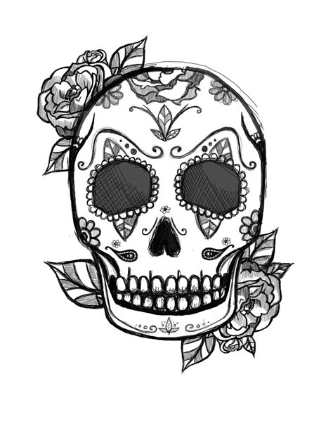 mexican skull tattoo design | Tattoos by Me | Pinterest | Mexican skull tattoos, Mexican skulls