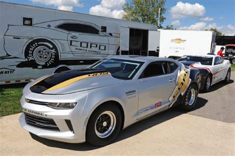 2016 Copo Camaros Hit The Dragstrip With Style And Performance