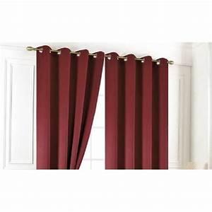 Ou Acheter Des Rideaux : double rideaux bordeaux achat vente pas cher ~ Teatrodelosmanantiales.com Idées de Décoration