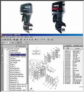 Yamaha Outboard Full Parts Manual Cd 1984