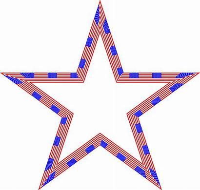 Flag Star Clipart Usa Stars Patriotic Background