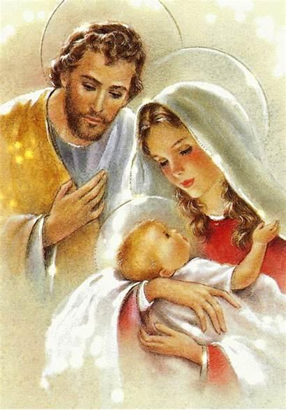 Maria Famiglia Sacra Immagini Croce Punto Natale