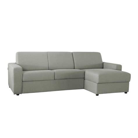 canapé d 39 angle convertible réversible en tissu coton pas