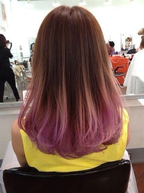 25 Best Ideas About Purple Dip Dye On Pinterest Dip Dye