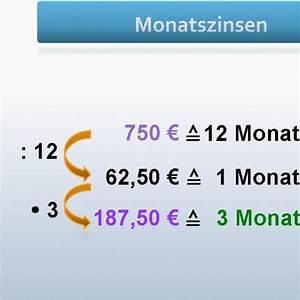 Dreisatz Berechnen : grips mathe 14 berechnung der monatszinsen grips mathe grips ~ Themetempest.com Abrechnung