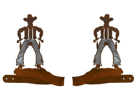 cowboy metal curtain tie backs rustic curtain accessories
