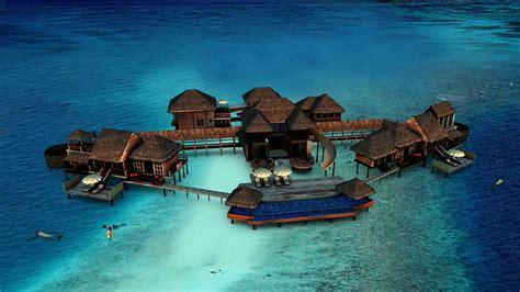 chambre sur pilotis maldives aux maldives la plus grande villa sur pilotis