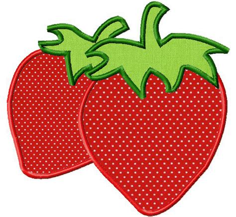 free applique designs free for gold members only strawberries includes both