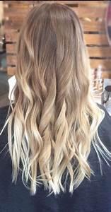 Ombre Hair Blond Polaire : bronde to blonde balayage ombre natural hair ombre cheveux en 2019 cabelo cabelo loiro et ~ Nature-et-papiers.com Idées de Décoration