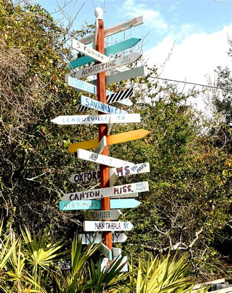 images  directional mileage signs  pinterest