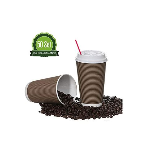 Oxo contributes 1 percent of its sales to environmental nonprofits such as sustainable food systems, cleaner air and water, and environmental education. Safeware 12oz 50 Sets Quality Paper Coffee Cups with Lids. Insulated Double Wall, No Drip Roll ...