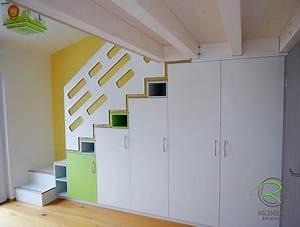 Kleine 2 Unten : treppenschrank mit hochbett holzdesign rapp geisingen ~ Orissabook.com Haus und Dekorationen
