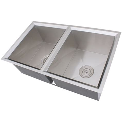 16 gauge vs 18 gauge sink for kitchen ticor s308 undermount 16 gauge stainless steel kitchen sink