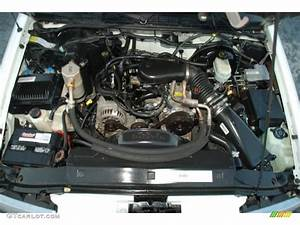 2000 Chevrolet Blazer Ls 4 3 Liter Ohv 12 Valve V6 Engine