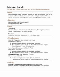 examples of a good resume template resume builder With how to make a great resume