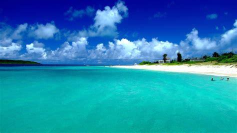 japan blauen ozean wolken landschaft natur strand meer