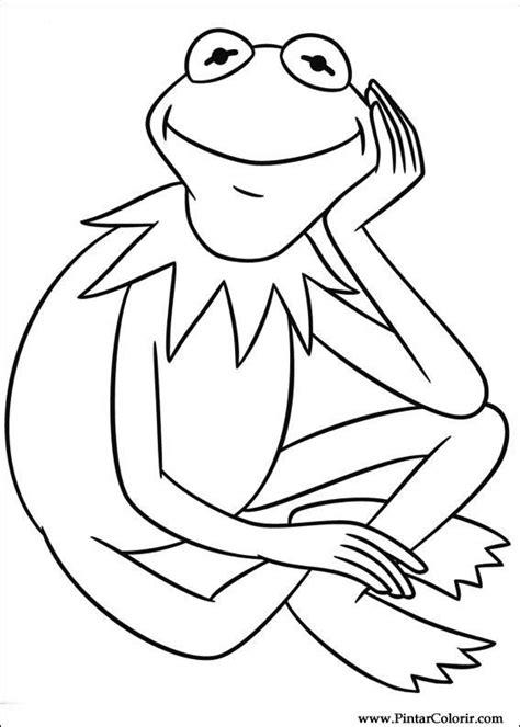 pintar  colorir muppets desenho  coloring pages pinterest