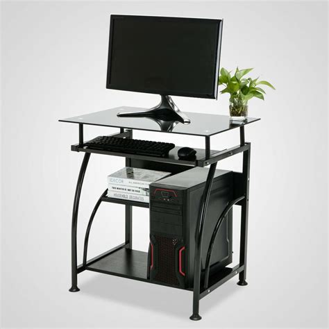 Computer Tables For Home by Home Office Corner Black Computer Desk Pc Laptop Table
