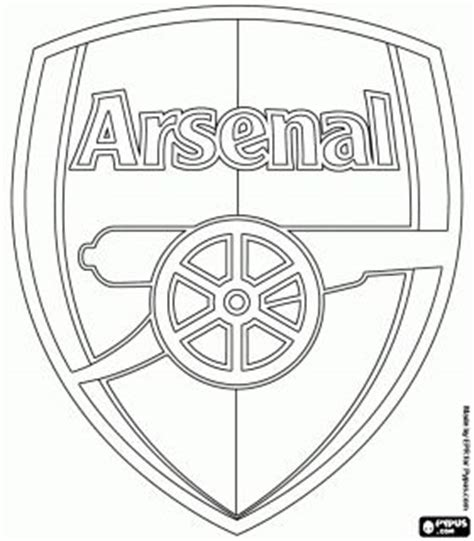 Soccer or Football Clubs's Emblems - Europe coloring pages ...