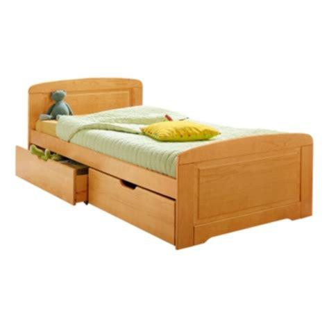 meubles camif lit et lot de 2 tiroirs iris 90 x 190 cm