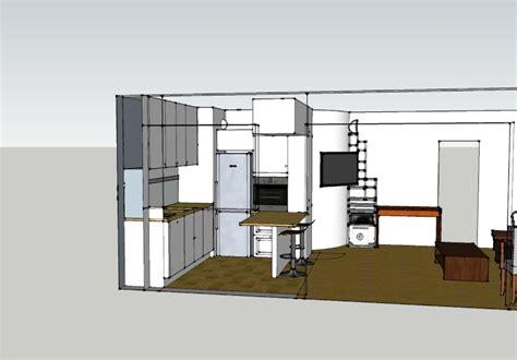 plan cuisine ouverte sur salon plan de cuisine ouverte decoration plan de cuisine