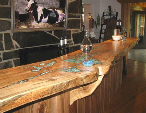 44 Reclaimed Wood Rustic Countertop Ideas   Decoholic