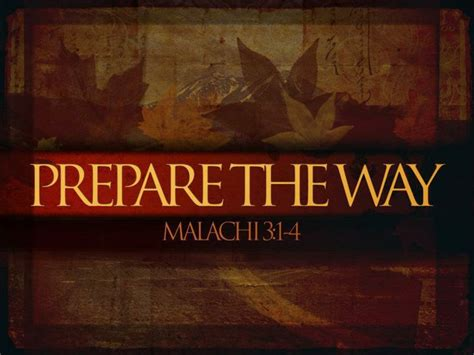 Free Bible Lesson Malachi