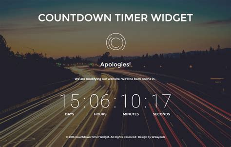 these free phone wallpapers to countdown your wedding countdown timer widget a flat responsive widget template