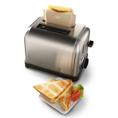 cheese toaster grilled bags head