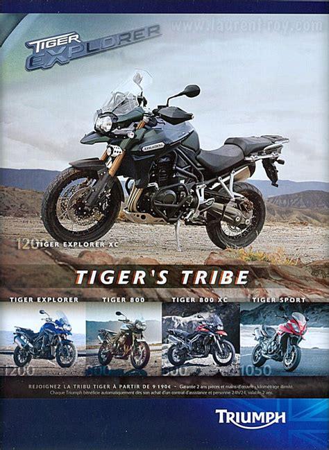 Triumph Tiger Explorer Modification by Www Laurent Roy Publicit 233 Moto 2013