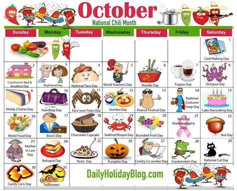 oct-calendar-2016   Weird holidays, Holiday calendar ...