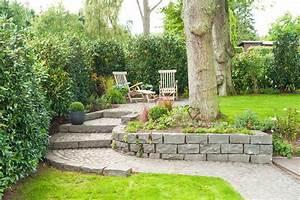 Gartengestaltung Unter Bäumen : stadthausgarten in hanglage in blankenese ~ Yasmunasinghe.com Haus und Dekorationen