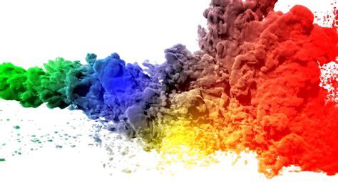 smoke colors animation of colored smoke motion background