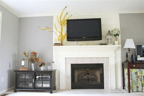 mounting tv above fireplace cameras and chaos the tv wall mount is done