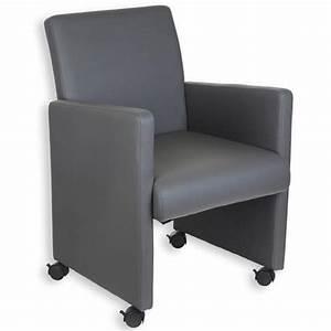 Stuhl Kunstleder Grau : stuhl sessel lounge mit rollen kunstleder grau ebay ~ Indierocktalk.com Haus und Dekorationen