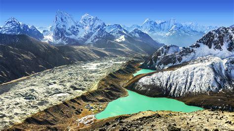 Beautiful view from Gokyo Ri, Everest region, Nepal by