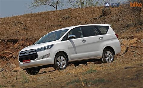 Toyota Innova Price by Toyota Innova Crysta India Price Review Images Toyota