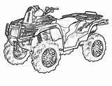 Atv Coloring Mud Quad Arctic Cat Colorare Disegni Fuoristrada Wheeler Trasporti Yescoloring Quads Automobili Brawny Boys sketch template