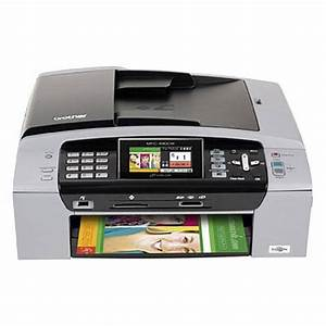 brother mfc 490cw color inkjet all in one printer mfc490cw bh With brother printer rds620 document scanner certified refurbished