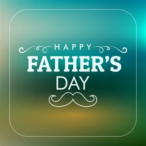 Best cards for bad credit. Unfocused father's day background | Free Vector