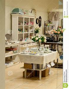 Home Decor And Dishes Shop Royalty Free Stock Image ...