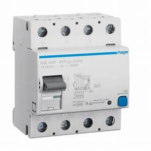 Interrupteur Differentiel Hager 63a Type Ac : interrupteur differentiel hager ~ Edinachiropracticcenter.com Idées de Décoration