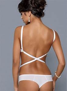 Bra Size Chart Ginny Convertible Low Back Plunge Bra By Konrad
