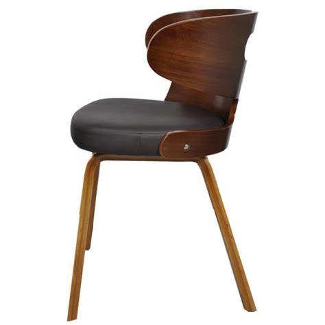chaises salle à manger cuir 4 chaises pas cher 28 images lot de 4 chaises drago