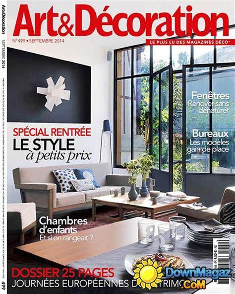 magazine et decoration d 233 coration septembre 2014 no 499 187 pdf magazines magazines commumity