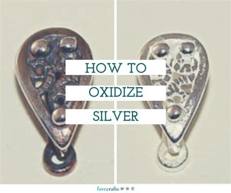 oxidize silver favecraftscom