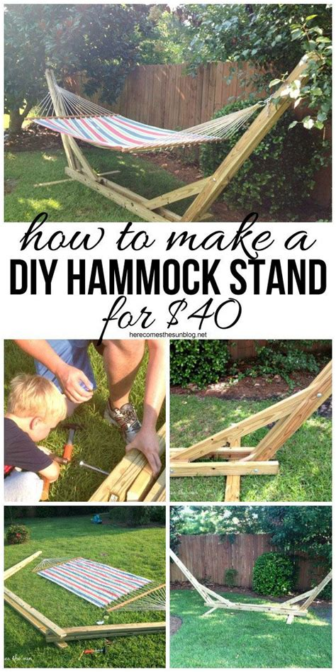 how to make your own hammock 17 best images about 2x4 2x6 on outdoor