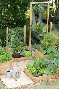 Carre De Jardin Potager : faire un potager en carr de jardin ou suspendu avec 3 ~ Premium-room.com Idées de Décoration