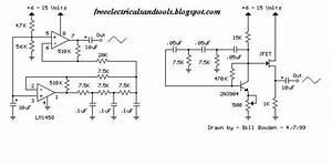 Low Frequency Sine Wave Generators Schematic