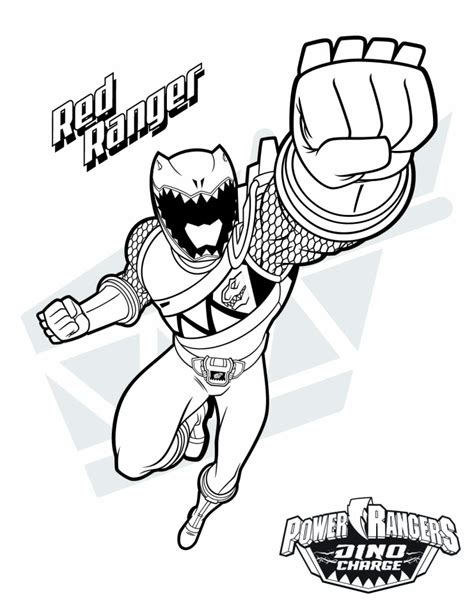 power ranger coloring pages 20 free printable power ranger dino charge coloring pages
